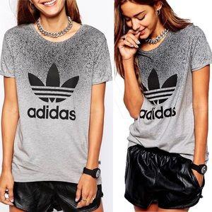 Adidas | RARE trefoil Rita Ora boyfriend tee shirt